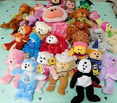 Bulk Lot x 22 Beanie Kids ~ Retired & in Good Condition - some Tagged - 1 Large