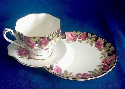 Queen Anne Fine Bone China Cup And Saucer Plate Or Tennis Set