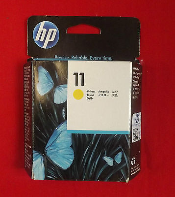 Testina originale HP 11 C4813A Giallo Yellow Bussiness Color Inkjet DesignJet