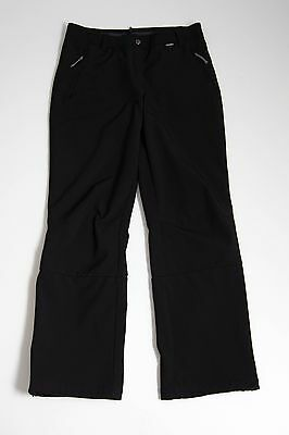 Womens Icepeak Hiking Camping Trousers Pants Black Size Gb 16 Excellent