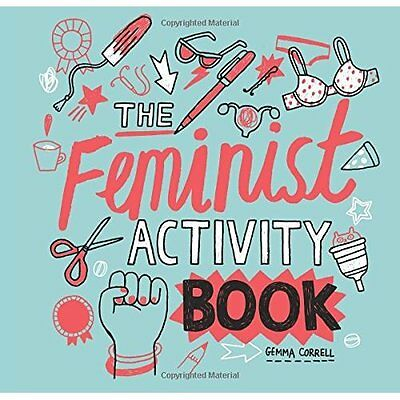 Feminist Activity Book - Paperback NEW Gemma Correll 26/05/2016