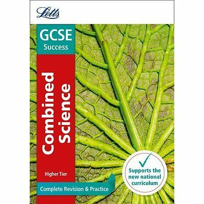 GCSE Combined Science Higher Complete Revision & Practi - Paperback NEW Letts GC