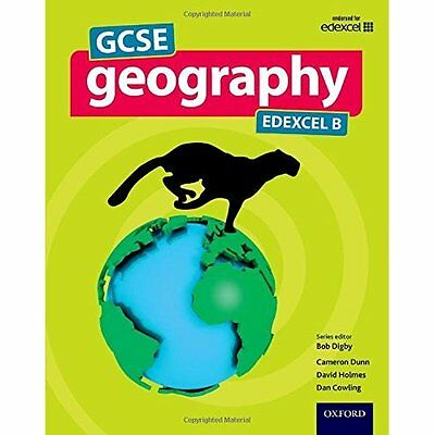 GCSE Geography Edexcel B Student Book - Paperback NEW Bob Digby (Auth 19/05/2016