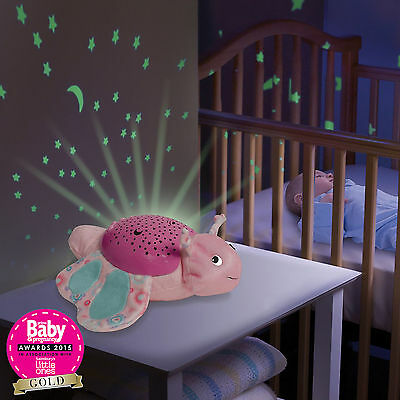 New Summer Infant Frankie Frog Slumber Buddies Nightlight Projector