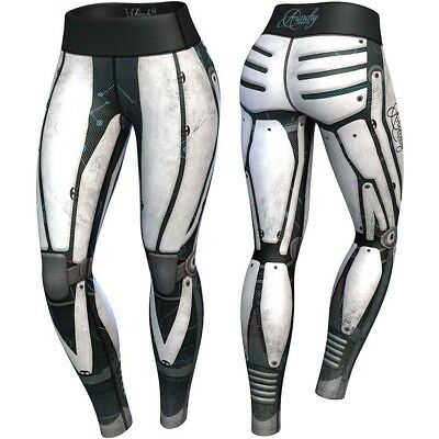 Anarchy Apparels Compression Leggings, Robota, Fitness Hosen, Gym Pants Training