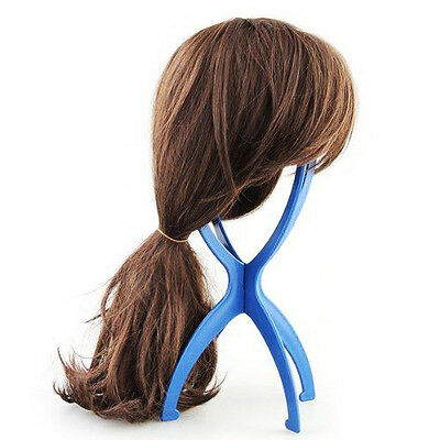 PACK OF 6 Wig Display Stands Foldable Portable Wig Holders Wig Accessories