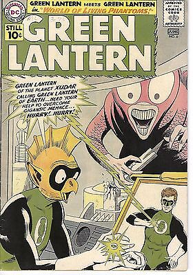 Green Lantern #6, Dc 1961, Fn Condition, 1St Appearance Of Tomar-Re