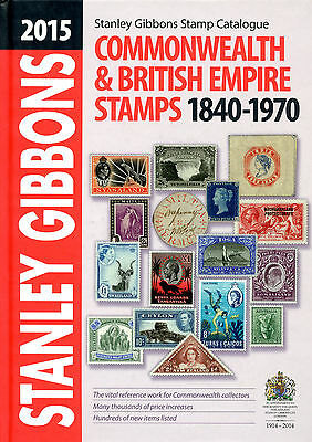 2015 Stanley Gibbons Commonwealth & British Empire Stamps 1840-1970