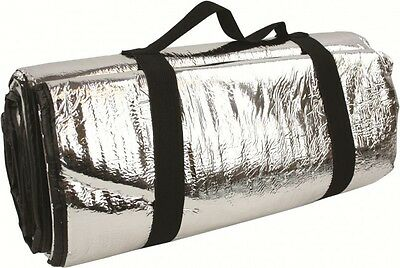 Large Reflective Foil Thermal Survival Blanket - Camping Hiking Emergency