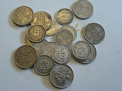 VARIOUS BIRTH YEARS 3d / SIXPENCE 1920 / 1967 YOUR CHOICE OF YEAR @ FREE POST #