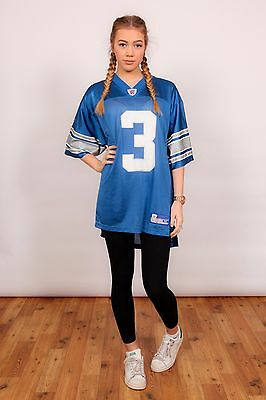 Vintage Detroit Lions american football jersey shirt HARRINGTON #3 onfield NFL
