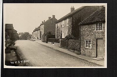 Westow - real photographic postcard