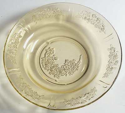 Federal Glass Company SHARON AMBER Rimmed Soup Bowl 124623