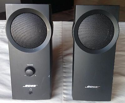 ® Bose Companion 2 Speakers for Computer / Phone - Black - Sound Amazing!
