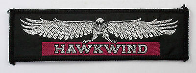 HAWKWIND vintage Woven Patch with glitter thread