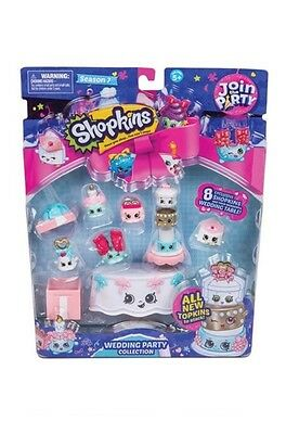 Shopkins Party Season 7 Deluxe Pack - Wedding Party - Brand New