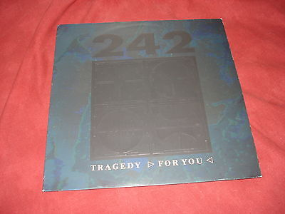 "FRONT 242 Tragedy  RARE 12"" NEW WAVE INDUSTRIAL"