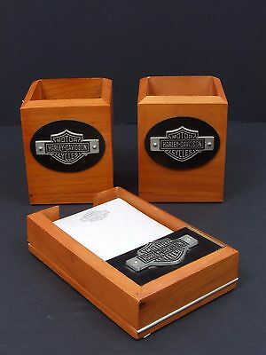 Harley Davidson Office Desk Accessories, Note Pad.