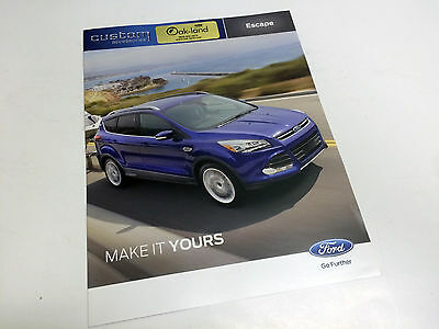 2014 Ford Escape S SE Titanium Custom Accessories Brochure