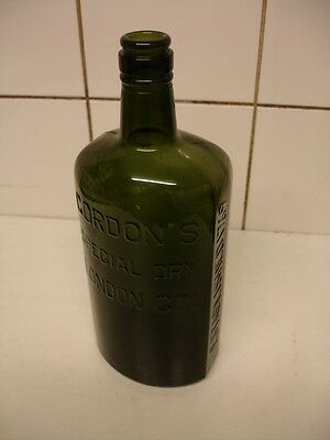Old Gordons Gin Bottle - Early 1900s - Excellent Condition