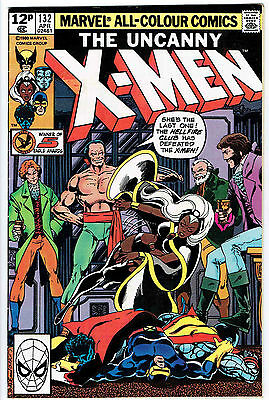 THE UNCANNY X-MEN ISSUE 132 BY MARVEL COMICS vfn-