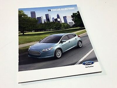 2014 Ford Focus Electric Brochure