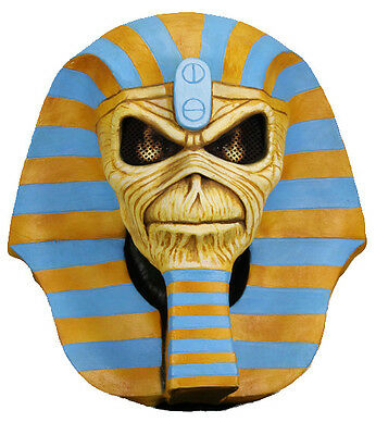 IRON MAIDEN - Powerslave 30th Anniversary Latex Eddie Mask (NECA) #NEW