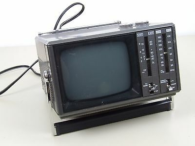 "Vintage ""Citizen"" Portable Television and Radio Set"