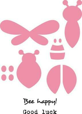 Marianne Design Stanzschablone/ Stempel Collectables Bee & Lady bird - COL1356