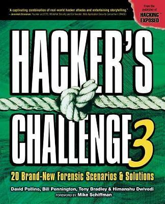 Hacker's Challenge 3 : 20 Brand-New Forensic Scenarios and Solutions by...
