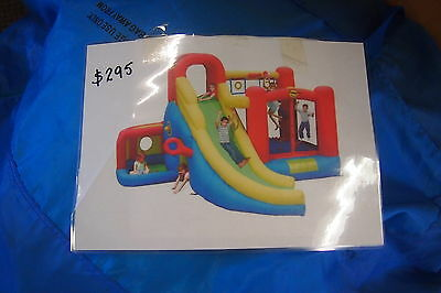 JUMPING CASTLE Little Kids 11 in one play centre with electric blower
