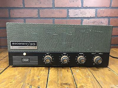 Rare Vintage Early 1960's Stromberg Carlson Signet 33 Amplifier Amp MADE IN USA