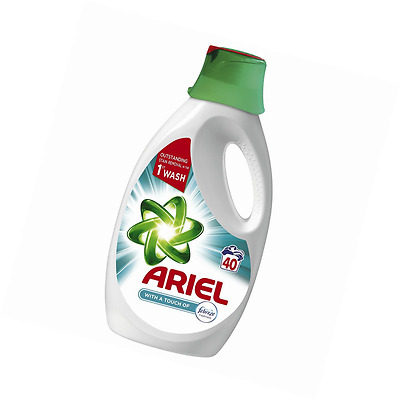Ariel Washing Liquid With A Touch Of Febreze 120 Washes (3 x 2L pack)