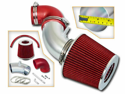 Filter BCP RED 03-07 Accord 3.0L V6 Cold Air Intake Induction Kit