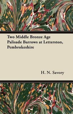 Two Middle Bronze Age Palisade Barrows at Letterston, Pembrokeshire (Paperback o