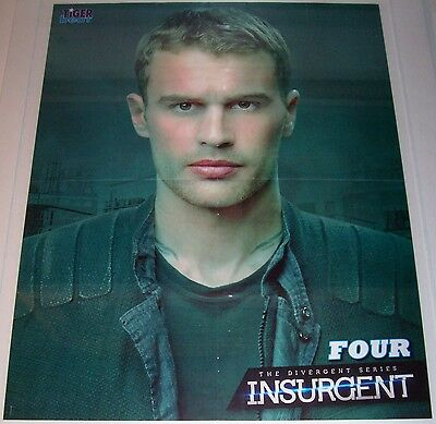 Theo James - Four - The Divergent Series Insurgent - Niall Horan & Harry Styles