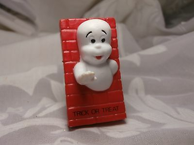 "Vintage Casper Friendly Ghost Halloween Mini Pvc Figurine 1989 ""trick Or Treat"""