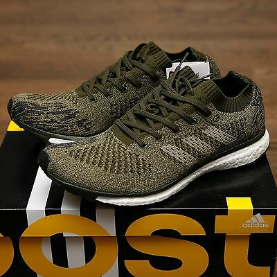 more photos 50f6b 5fb48 Adidas BOOST Adizero Prime LTD Trace Night Cargo Olive 100% BA7936 Primeknit