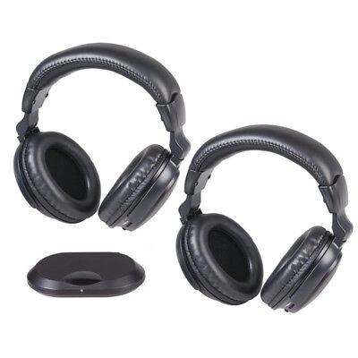 DIGITECH Wireless Infrared Headphones Twin Pack excellent choice for TV-watching