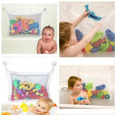 Portable Baby Kid Bath Tub Toy Tidy Storage Suction Cup Bag Mesh Net Organizer Z