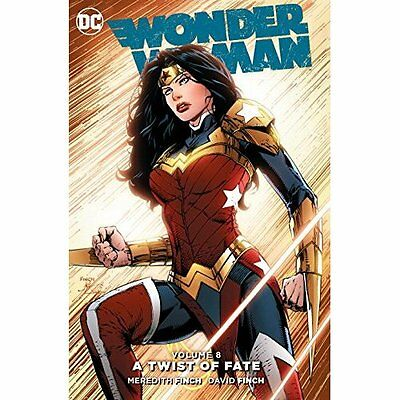 Wonder Woman TP Vol 08 Twist Of Fate - Paperback NEW Meridith Finch  27 Sept. 20