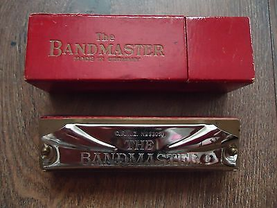 Vintage Harmonica THE BANDMASTER – Made in Germany