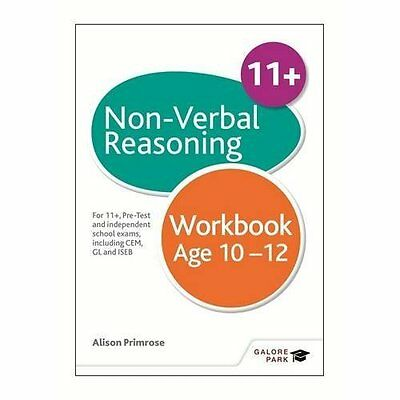 Non-Verbal Reasoning Workbook Age 10-12: For 11, pre-te - Paperback NEW Alison P