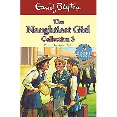 Naughtiest Girl Collection - books 8-10 (The Naughtiest - Paperback NEW Enid Bly