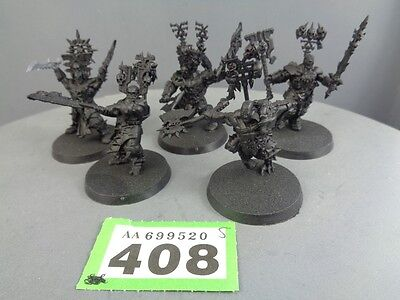 Warhammer Age of Sigmar Warriors of Chaos Skullreapers 408