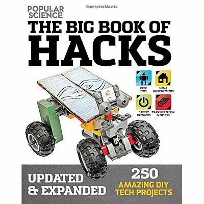 Big Book of Hacks: 264 Amazing DIY Tech Projects - Paperback NEW Dough Cantor (A