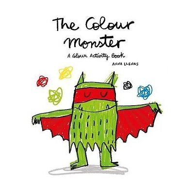 The Colour Monster: A Colour Activity Book - Paperback NEW Lupita Books (A 1 Mar
