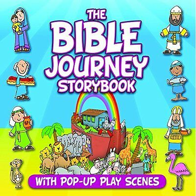 The Bible Journey Storybook: With Pop-Up Play Scenes - Hardcover NEW Juliet Davi