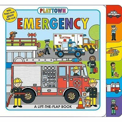 Emergency (Playtown) - Board book NEW Roger Priddy (A 01-May-16