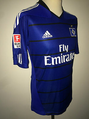 Hamburg SV Elia match worn spielertrikot 10/11 HSV Netherlands Holland Feyenoord
